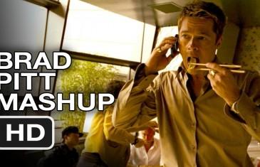 Brad Pitt et la bouffe
