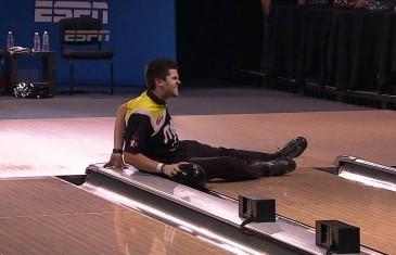Chute au bowling