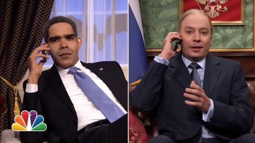 Crimée : Obama et Poutine la conversation !