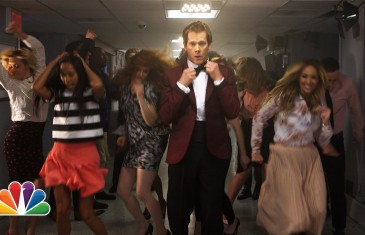 Kevin Bacon danse chez Jimmy Fallon