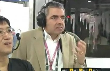 Mr. Bean il aime pas ça les accidents de F1