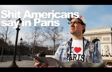 Shit Americans Stay in Paris