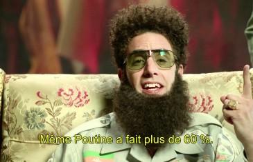 The dictator félicite François Hollande